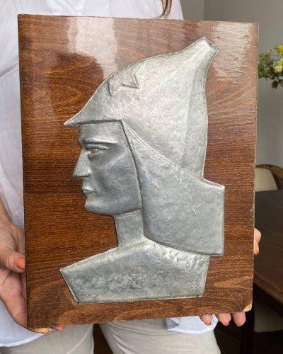 Plaque – Aluminium – Bois – Cavalerie – RKKA