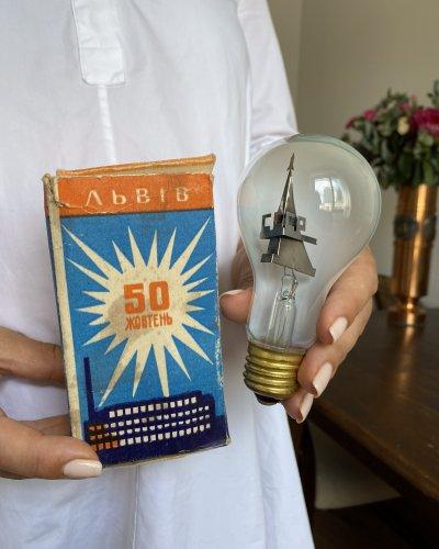 Ampoule Propagande Spatiale URSS