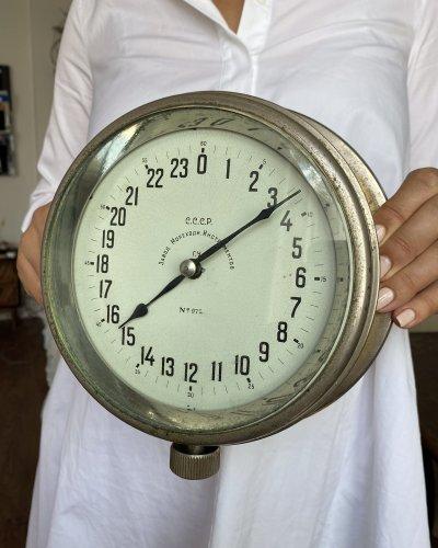 Horloge de Navire URSS – 24 Heures Années 40