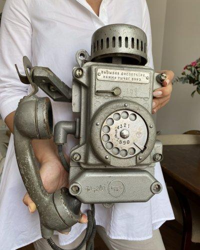 Téléphone de bunker – 8KG – Métal – Industriel