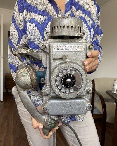 Téléphone de Bunker Soviétique – Aluminium – 8KG