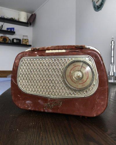 Radio Vintage Portable Bakélite URSS – Touriste
