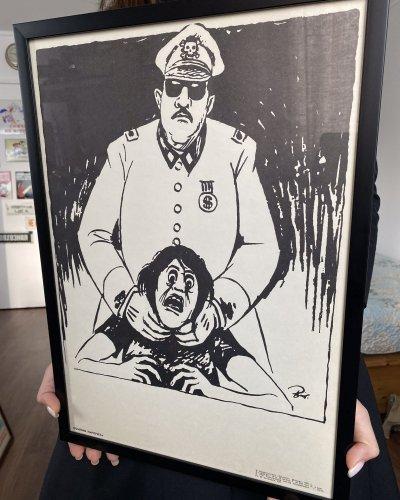 Affiche anti Pinochet – Chili