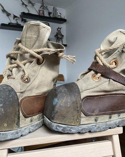 Bottes Scaphandrier Sovietique – 20KG Bronze