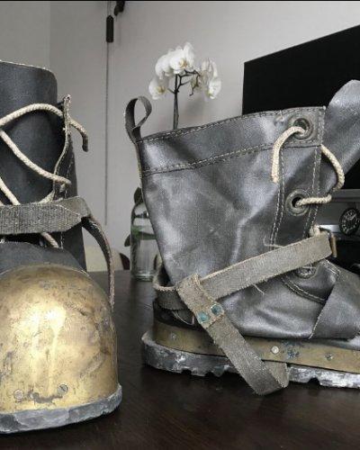 Chaussures Bottes Scaphandrier Russe URSS