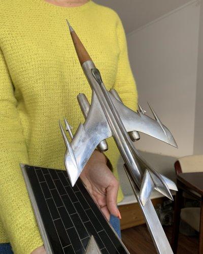 Modèle Avion Combat URSS – Métal Bakélite