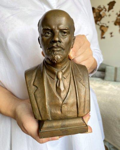 Buste Lénine – Sculpteur Rabine 1959 – Bronze