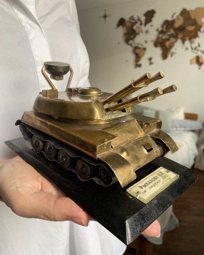Modèle Laiton – Cadeau Officier – ZSU-23-4 Shilka – 1974