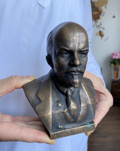 Bronze Lénine – Buste – Lourd – 3.5kg