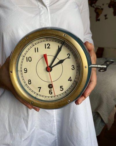Horloge de navire – Marine Soviétique – 8 Jours – 1973