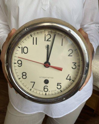 Horloge Marine Soviétique – 1985 – Antimagnétique