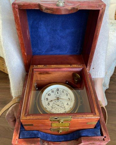 Chronomètre de Navire Marine Soviétique  – Kirova / Poljot – 1977 / 1984