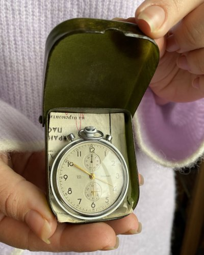 Chronomètre Chronographe Molnija – Mouvement 3017 Strela