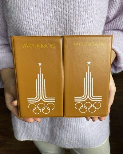 Jeux Olympiques 1980 – Bloc note – Cuir