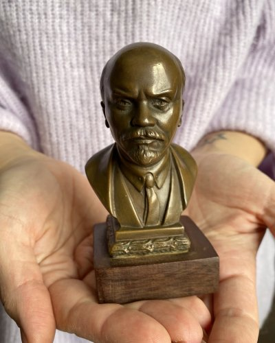 Buste Lénine – Bronze Bakélite