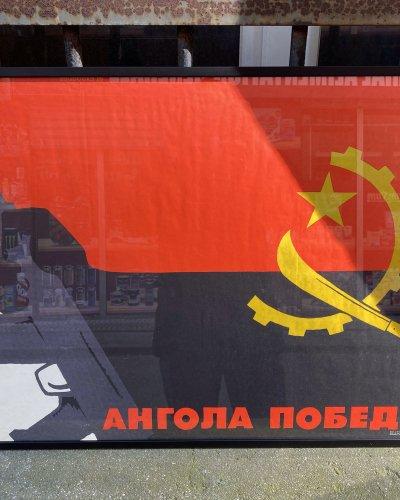 L'Angola gagnera-  Affiche Soviétique – 1981