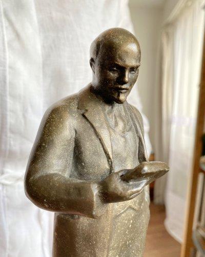 Statue Lénine – Lisant un Discours