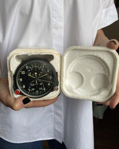 Horloge de Cockpit Soviétique – Neuve – numéro 33629 – ACHS-1