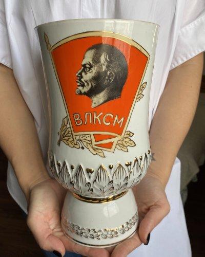 Vase Porcelaine Propagande – Baranivka
