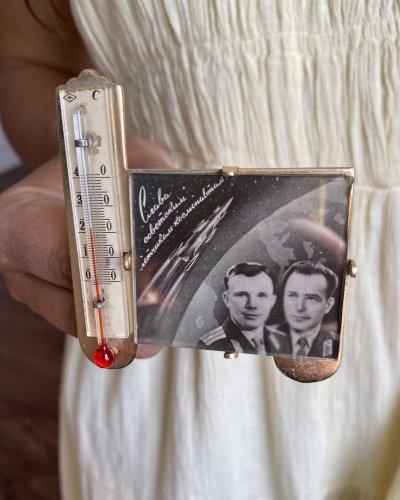 Thermomètre Conquête Spatiale – Gagarin – Titov