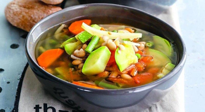 овощной суп дл похудения
