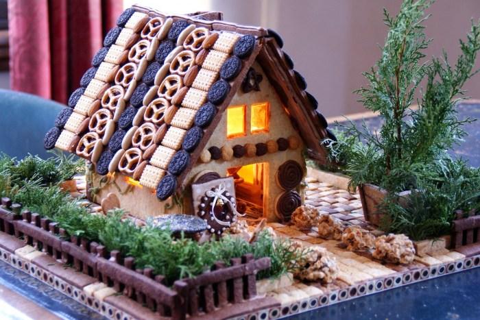 夏休みの自由研究一年生が一日でできるお菓子の家