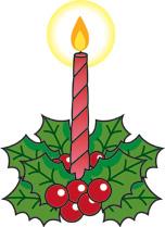 クリスマスの葉っぱの名前トゲトゲイラスト