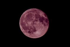 赤い月は地震の前兆?ストロベリームーン