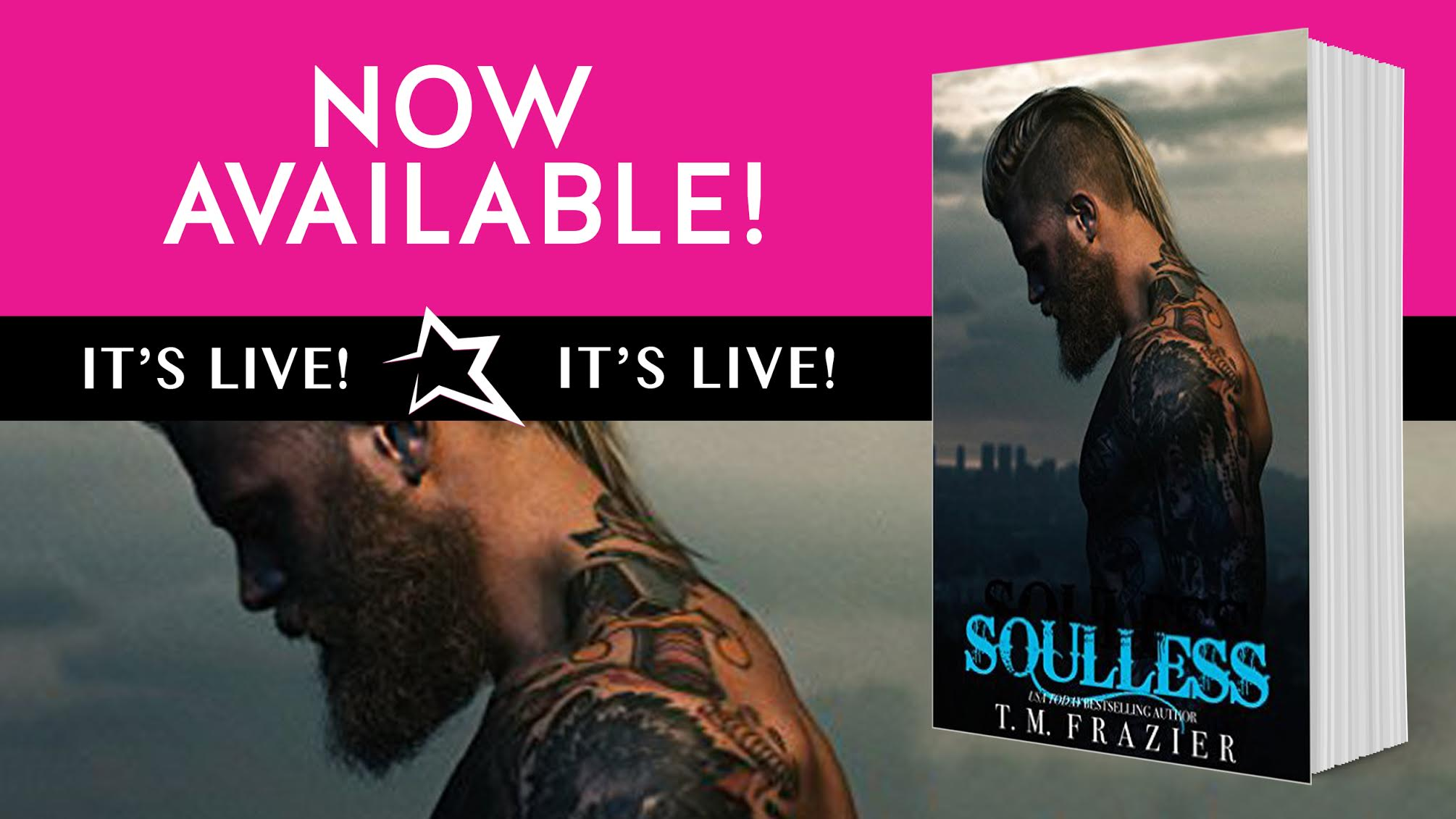 ARC Review – Soulless by T.M. Frazier