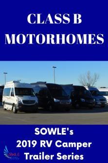 2019 Class B Motorhomes - SOWLE RV