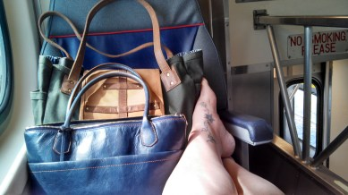 Train ride to SF