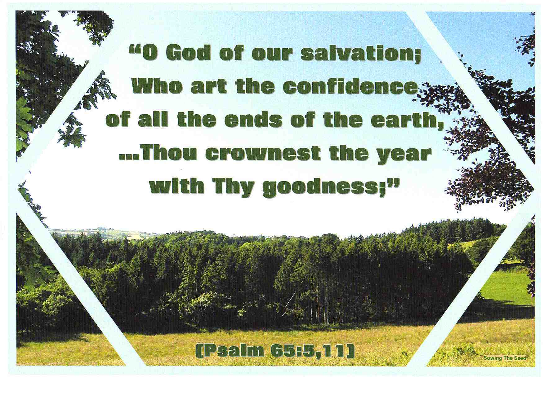 God Of Our Salvation
