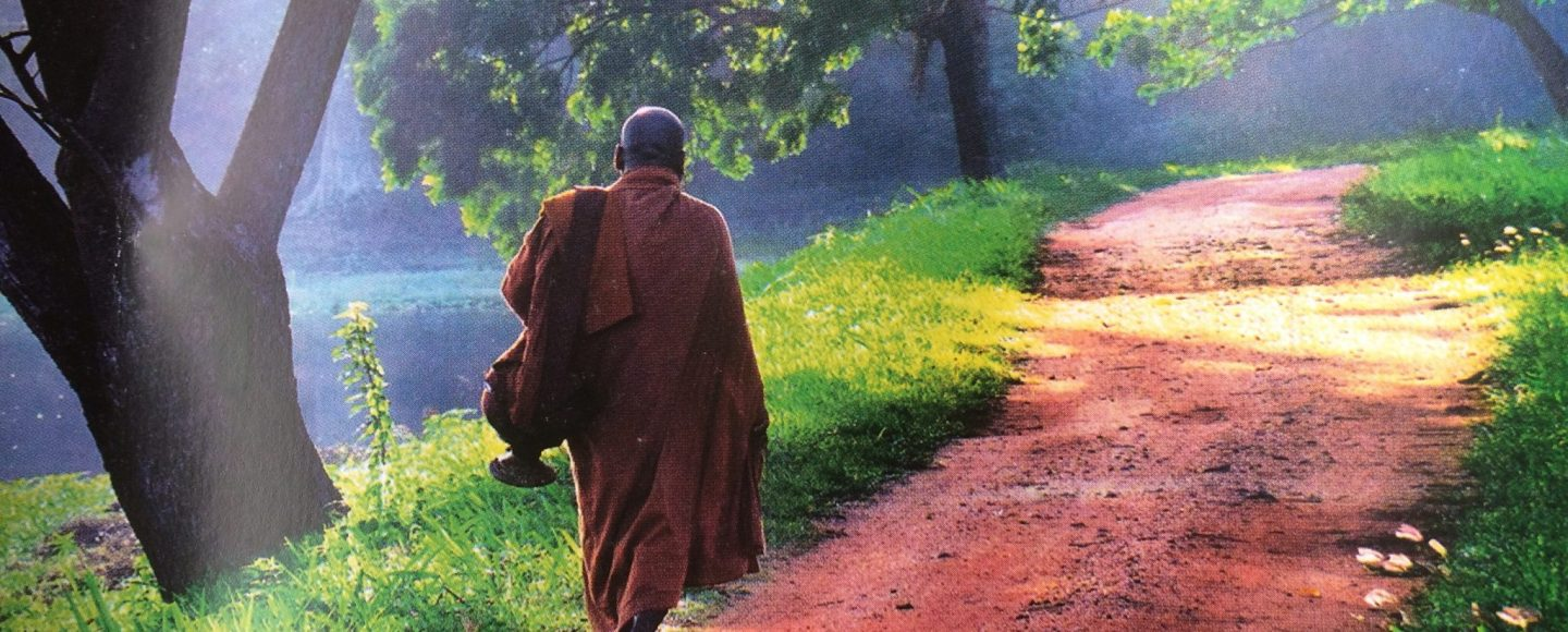 Monk in Sri Lanka