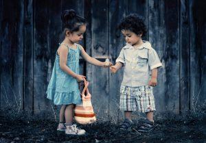 Children love friendship