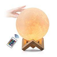 mondlicht lampe 12cm mond lampe mit Remote & Touch Control ...