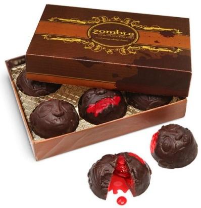 zombies chocolate