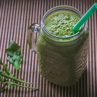 Vegan rucola smoothie