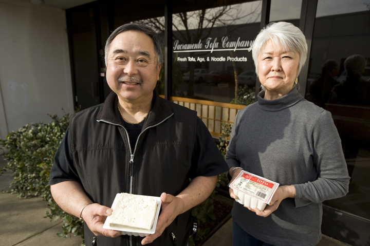 SACRAMENTO, CA February 20 : Alvin and Dorothy Kunishi owners of the Sacramento Tofu Company in Sacramento, California February 20, 2009. Copyright Paul Kitagaki Jr. © 2009