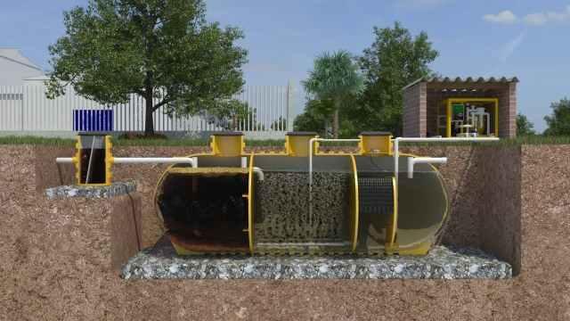 Planta de tratamiento de aguas residuales domésticas