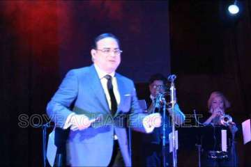 Gilberto Santa Rosa Merengue en el Concierto de La Independencia Dominicana en Teatro United Palace NYC