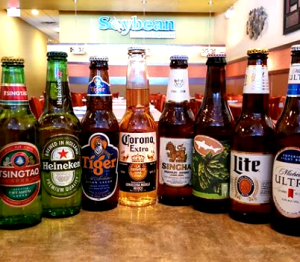 Beer Selection at Soybean Asian Grille Pike Creek Delaware 2019