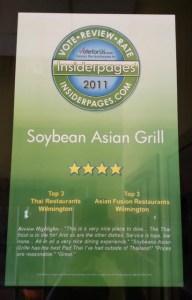 Insider Pages Award Winner 2011