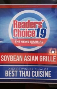 Soybean Asian Grille Readers Choice 2019
