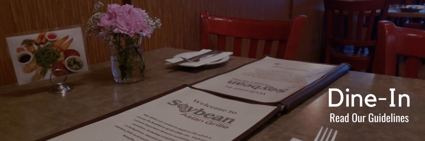 Dining In at Soybean Asian Grille
