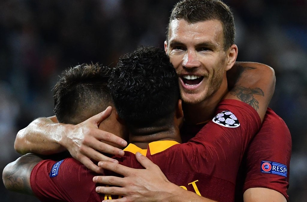 El AS Roma 5-0 Viktoria Plzen en cinco detalles