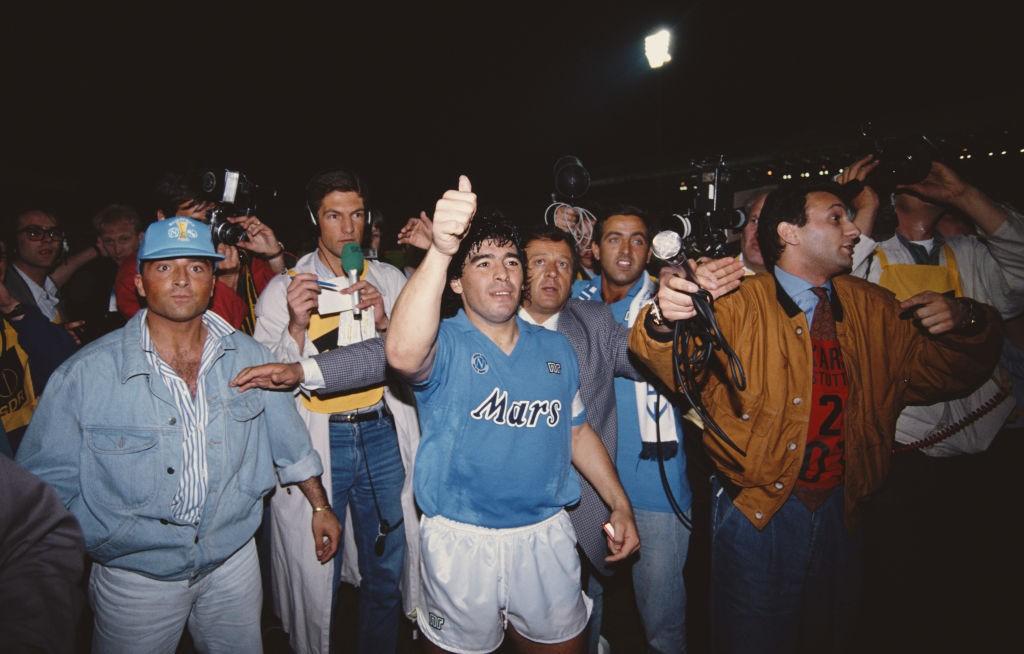La consagración europea del Napoli de Maradona