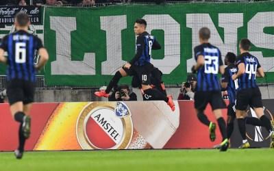 El Rapid Wien 0-1 Inter de Milán en cinco detalles