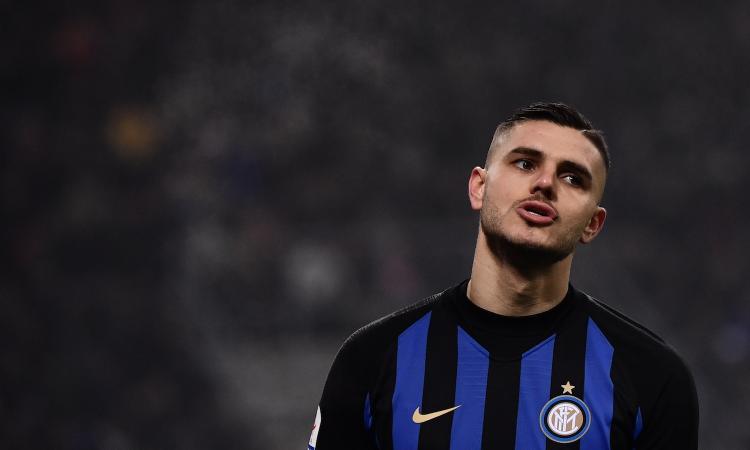 Mauro Icardi deja de ser el capitán del Inter de Milán