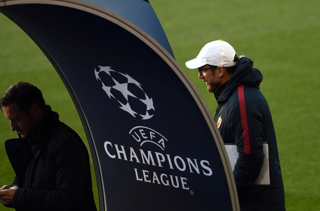 Lista de la Roma para los octavos de Champions League