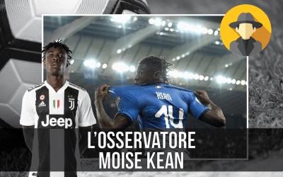 Historia y análisis del juego de Moise Kean